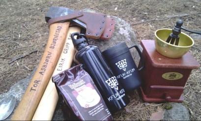 Øks, vannflaske og kaffekvern - alle har forskjellige behov.