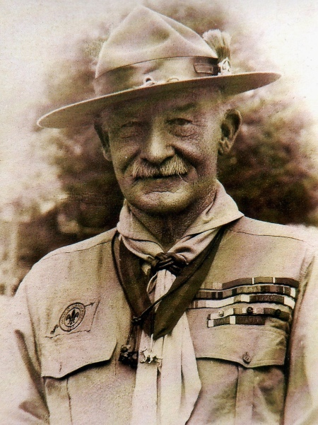 Baden-Powell, founder of the scout movement