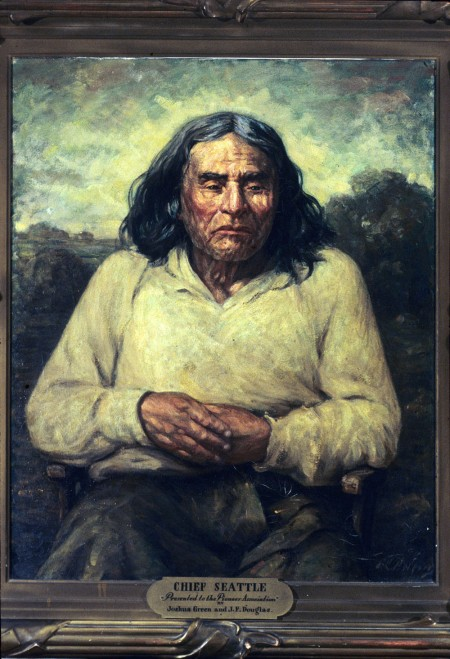 Painting of Chief Seattle